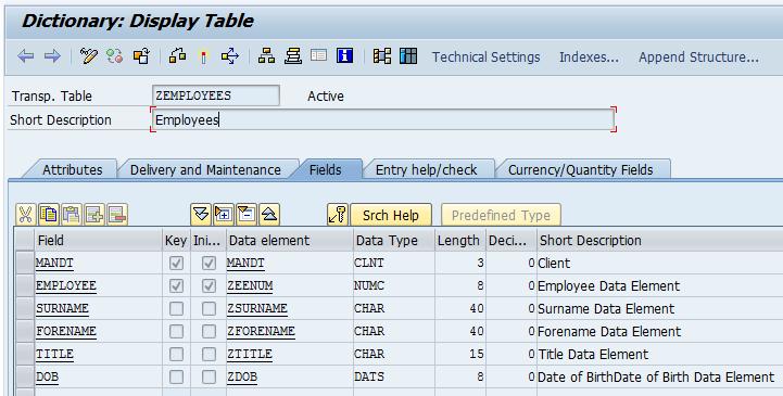 Os diferentes tipos de tabela do SAP – @goenning