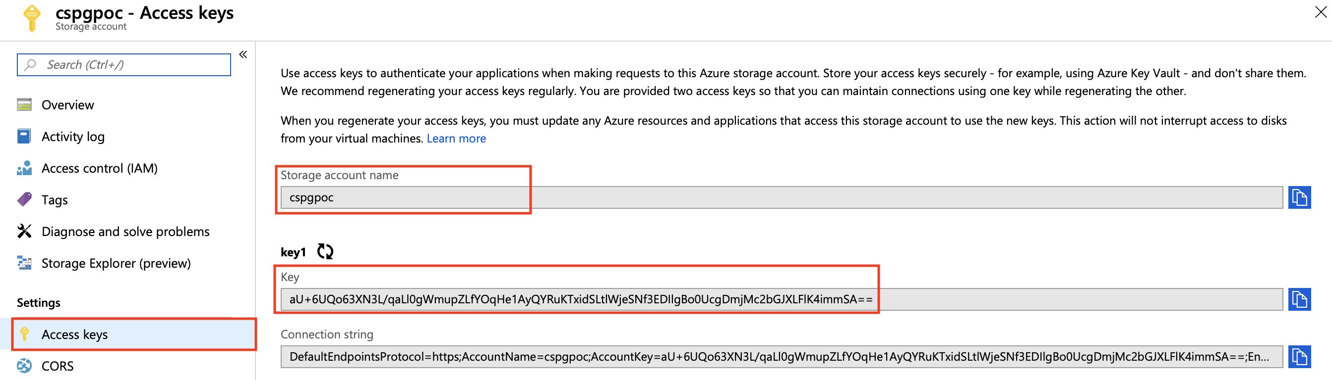 Using Azure Blob Storage as a cache backend for Go acme